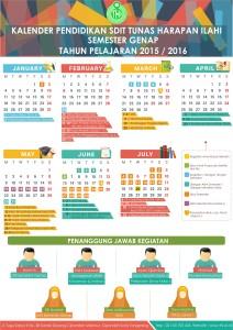 Kalender Pendidikan Genap 1516